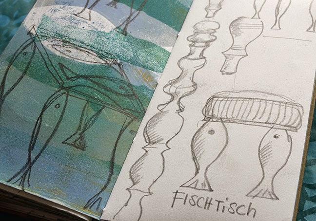 Skizzenbuch Müllerin Art
