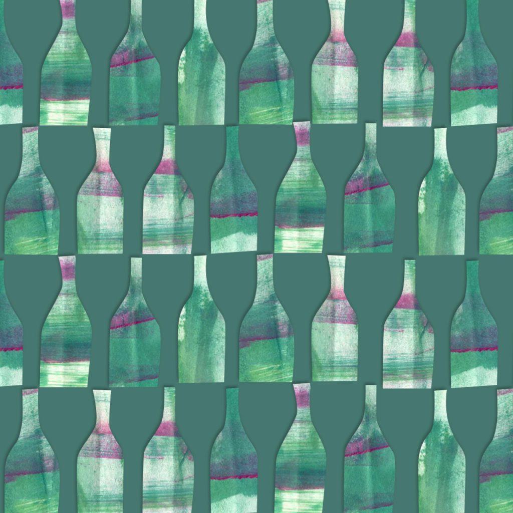 Flaschenmuster nach  ©muellerinart