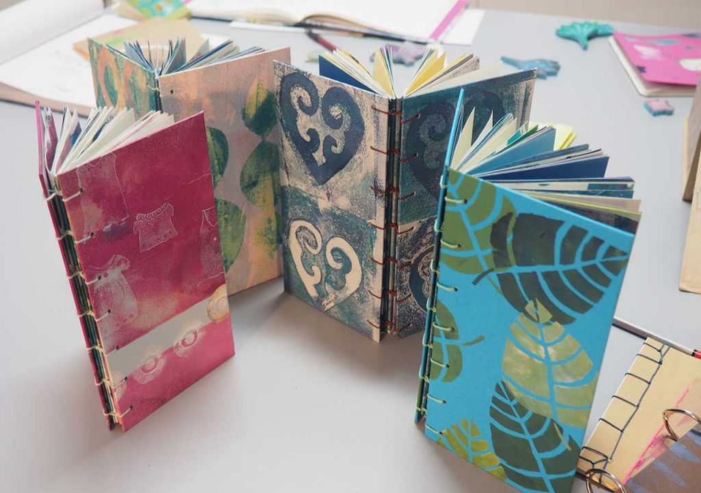 Art-Journals nach ©muellerinart