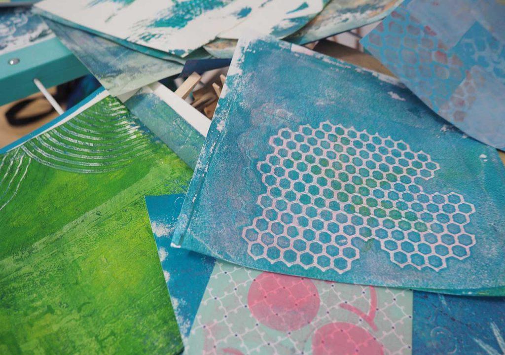 Art-Journals nach ©muellerinart