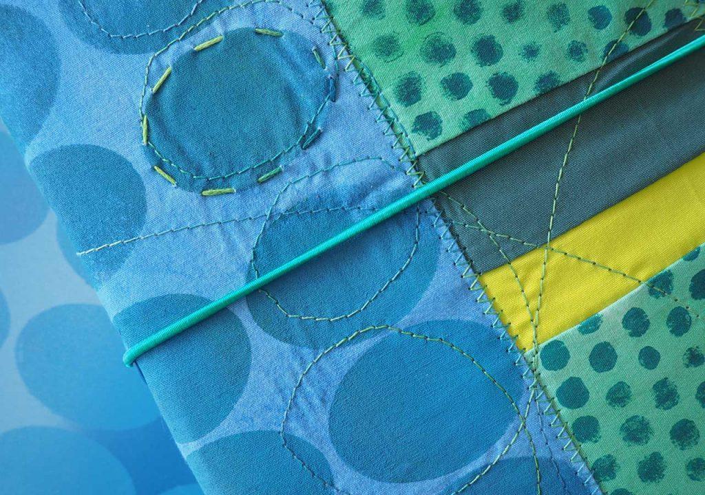 textiles Buch nach ©muellerinart