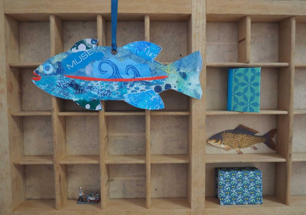 Fisch von Mano Kellner im Müllerin Art Studio ©muellerinart