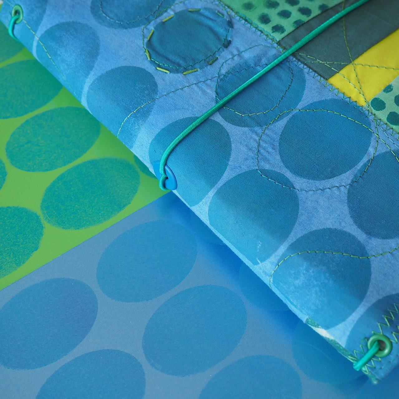 textiles Buch nach Müllerin ARt
