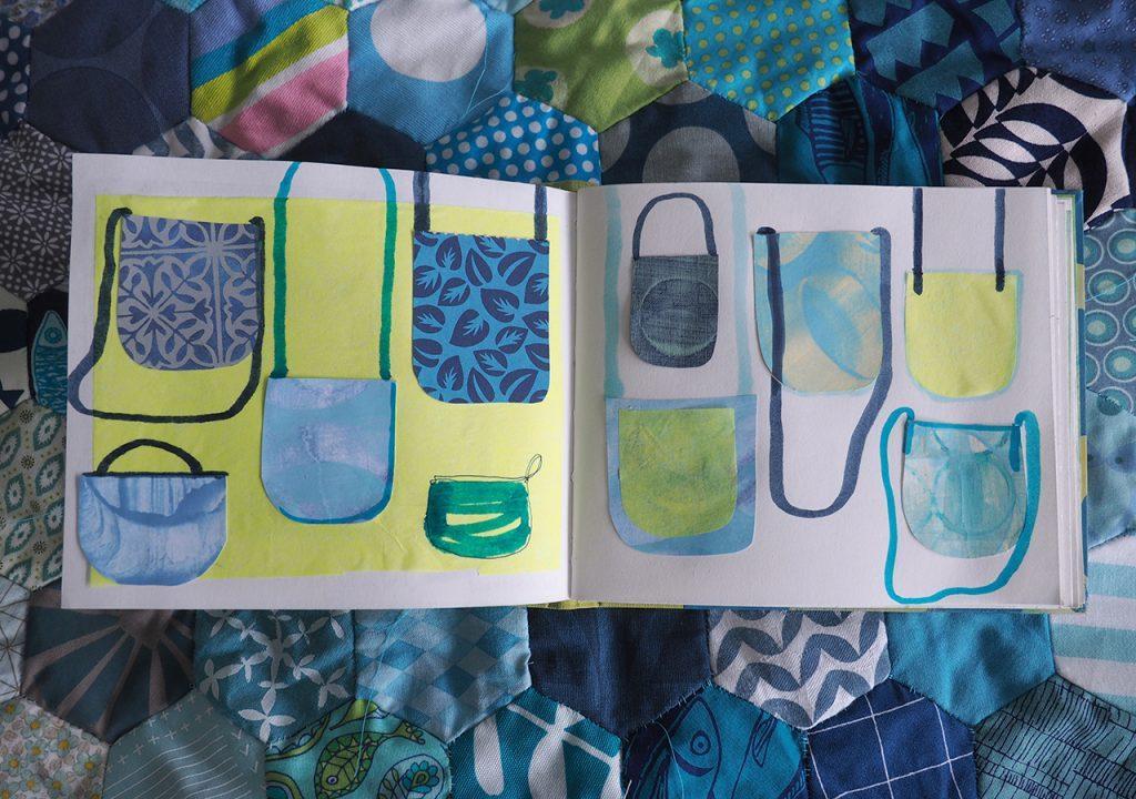 Taschen-Muster nach ©muellerinart