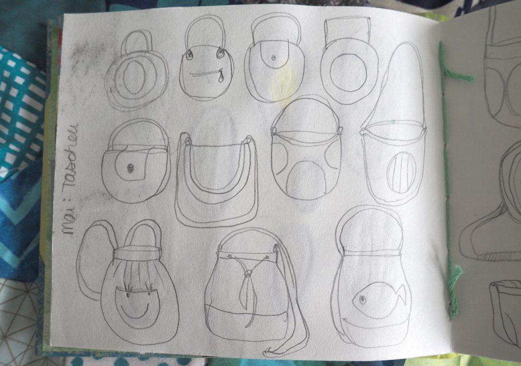 Skizzenbuch auf Terschelling nach ©muellerinart