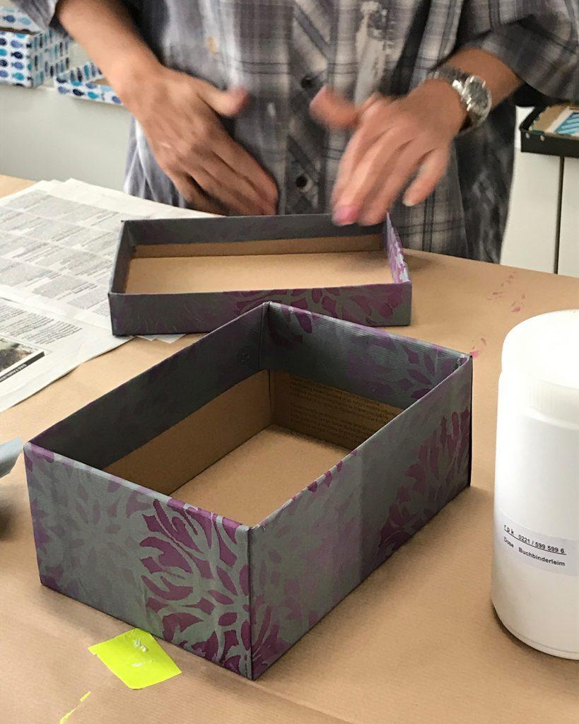 Schachteln nach ©muellerinart