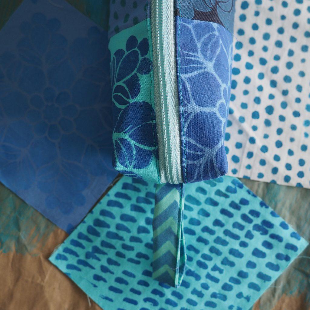 Blaue Mustertaschen ©muellerinart