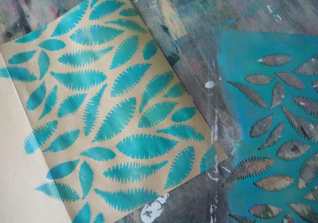 tropische Muster nach ©muellerinart