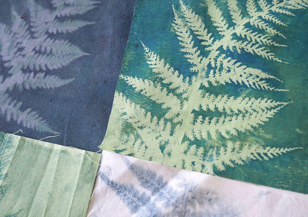 Gellidruck Farn tropische Muster ©muellerinart