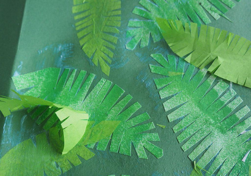 Scherenschnitt-Blätter nach ©müllerinart