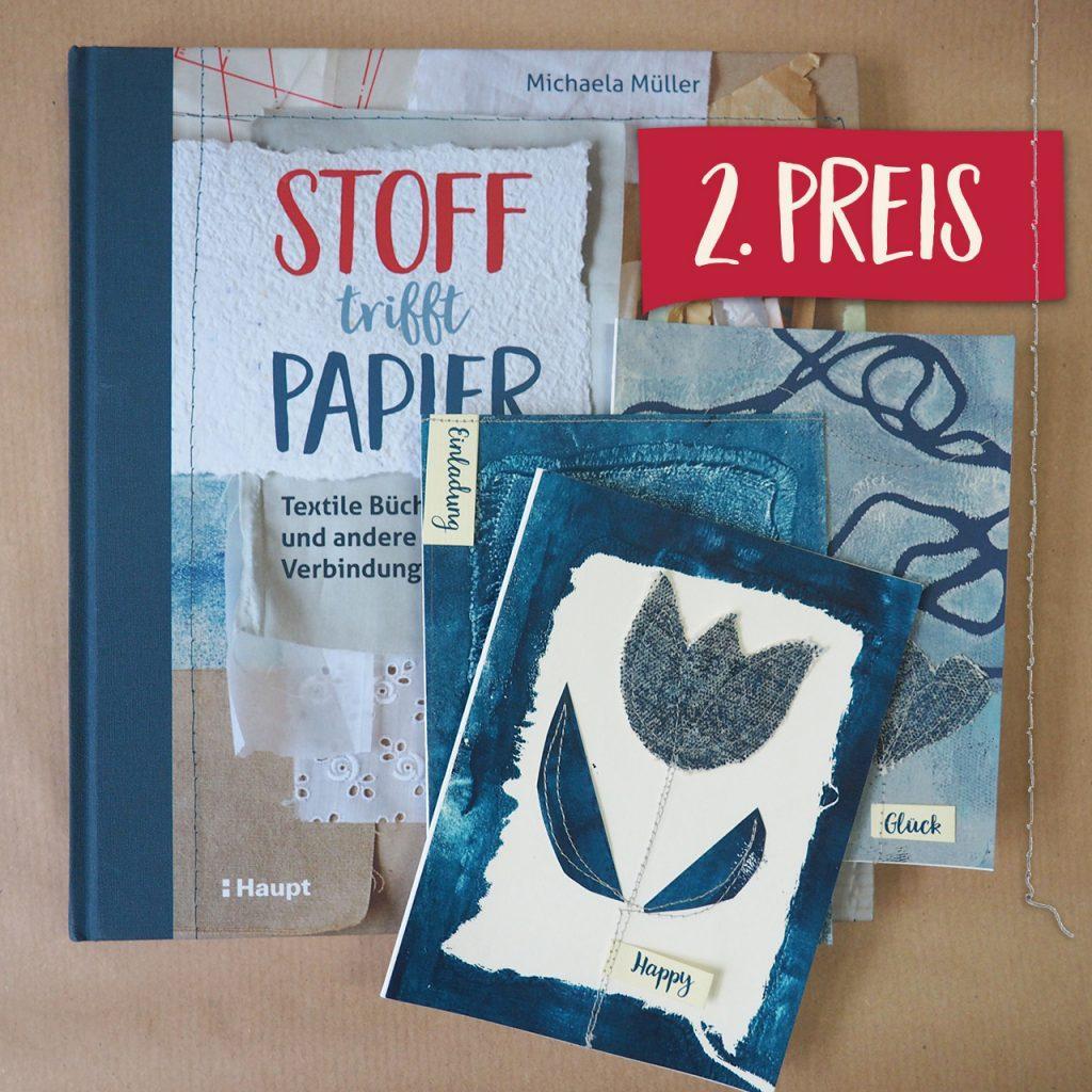 Stoff trifft Papier nach ©muellerinart