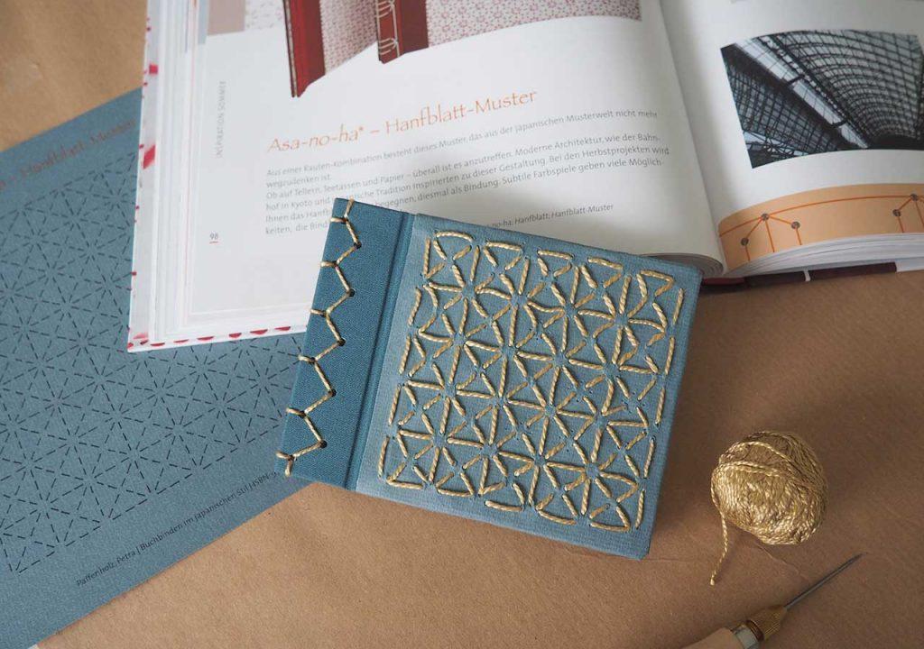 Buchbinden im japanischen Stil, Petra Paffenholz ©muellerinart