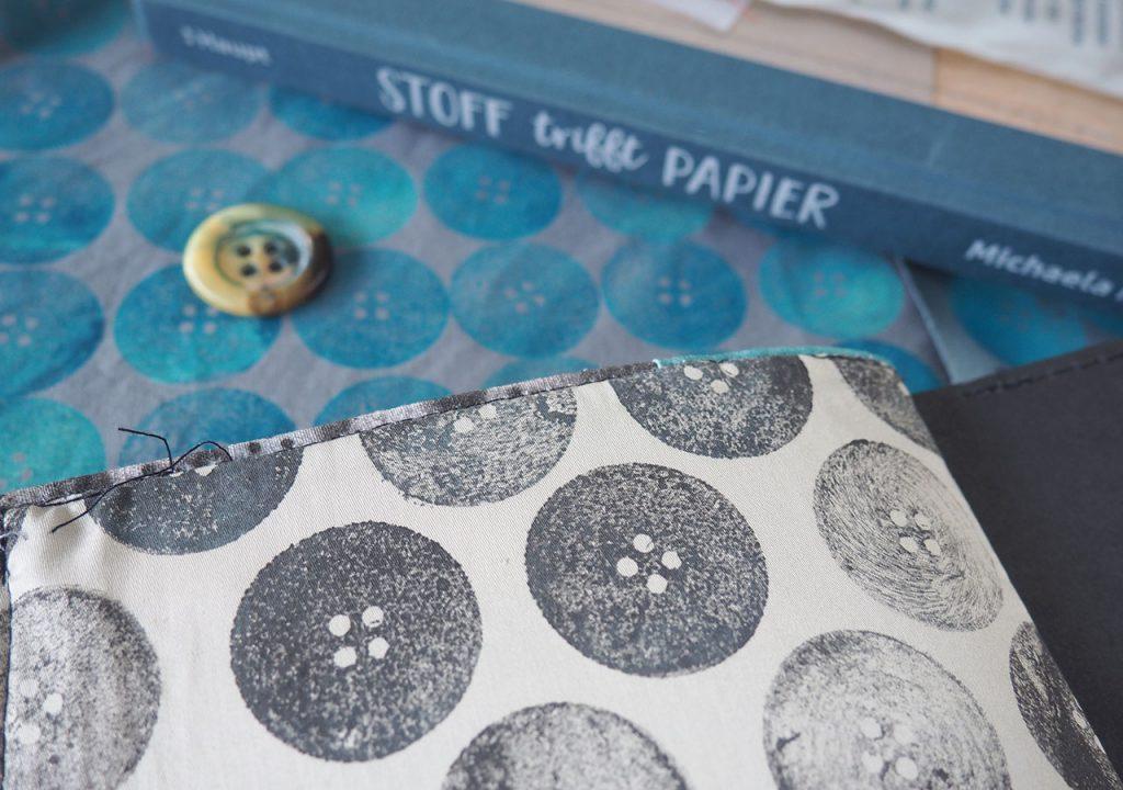 Stoff trifft Papier nach  ©müllerinart