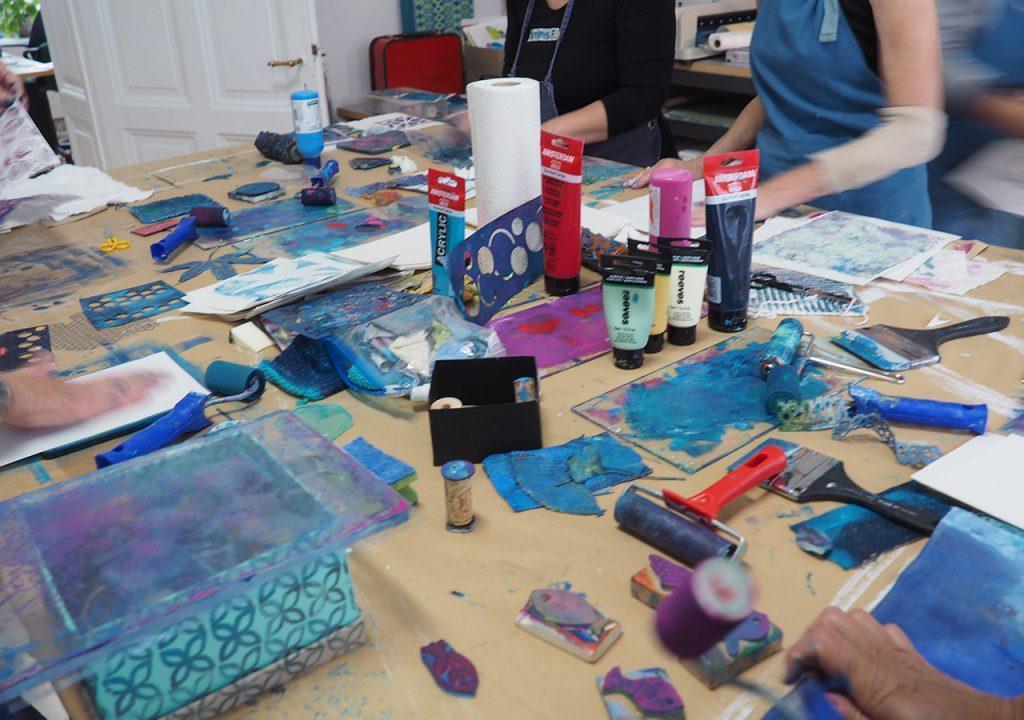 Workshop Verbindungen aus dem Nähkästchen nach ©muellerinart