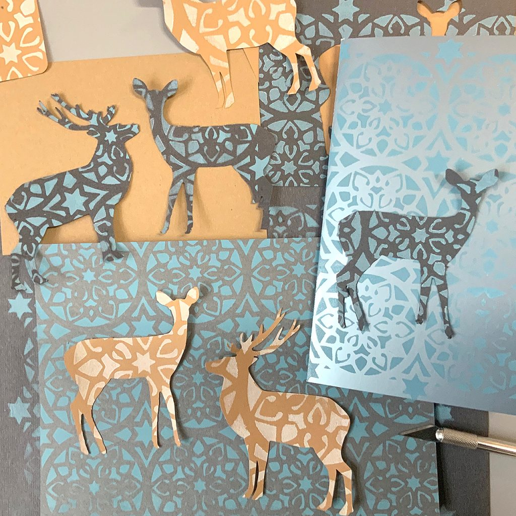Papierliebe Hirsche und Rehe ©muellerinartstudio