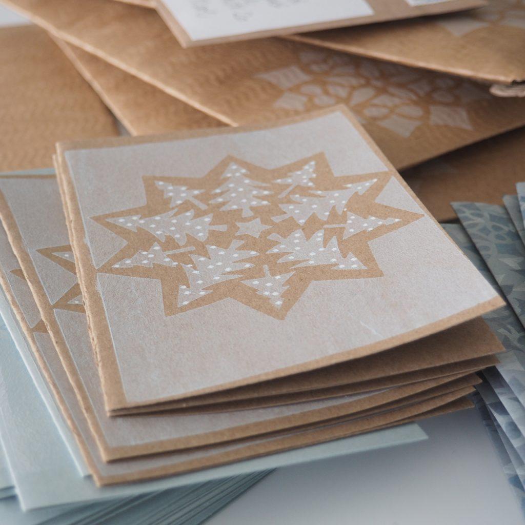 Weihnachtskarten nach ©muellerinart