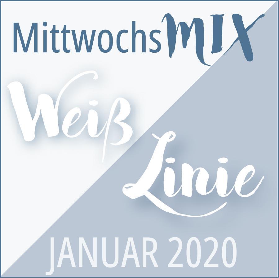 MittwochsMIX Januar 2020 Weiß Linie ©muellerinartstudio