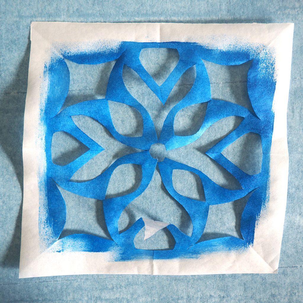 Freezer-Papier-Schablone ©muellerinart