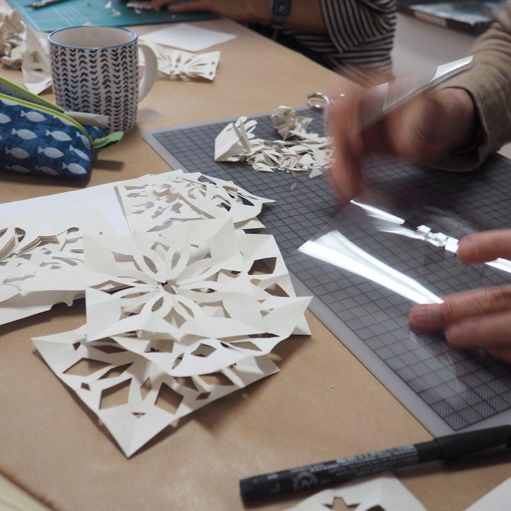 Adventliche Druckwerkstatt im ©muellerinartstudio