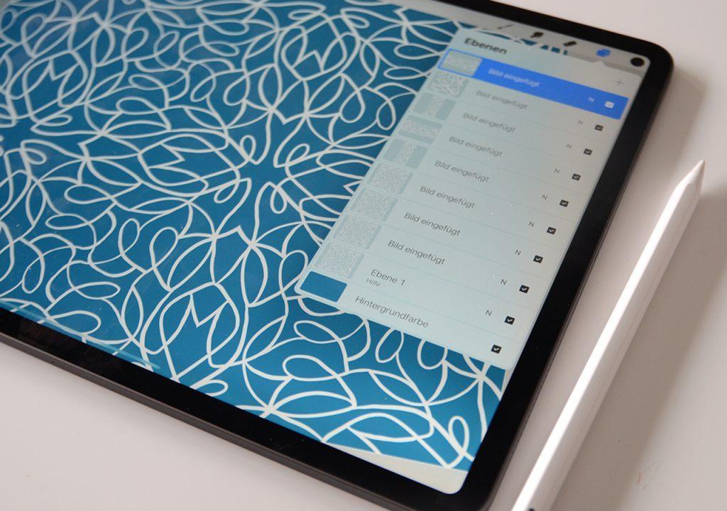 digitale Skizze Muster ©muellerinart