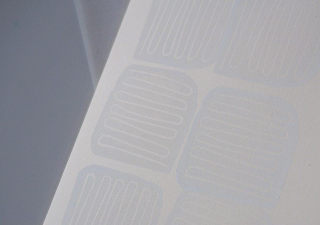 weißdruck nach ©muellerinart