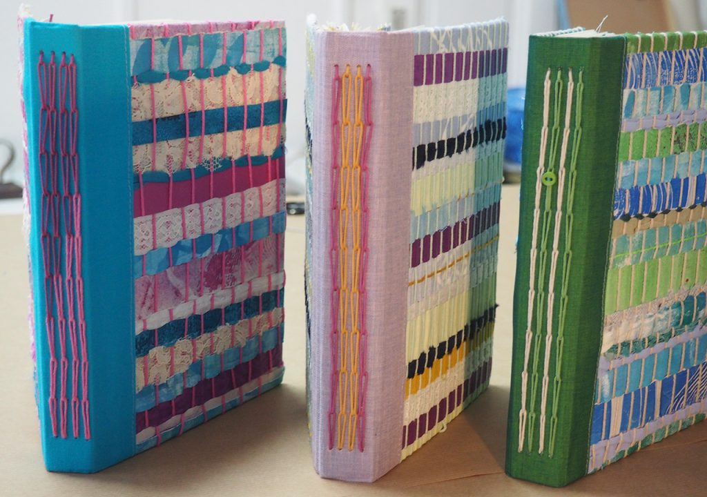 Gewebebücher nach ©muellerinart