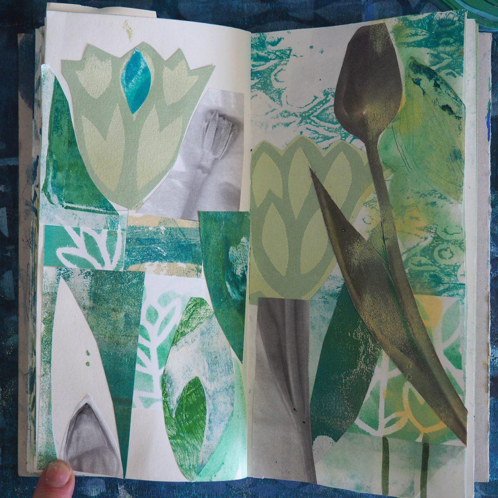 Märzbuch Schicht + Tulpe nach ©müllerinart