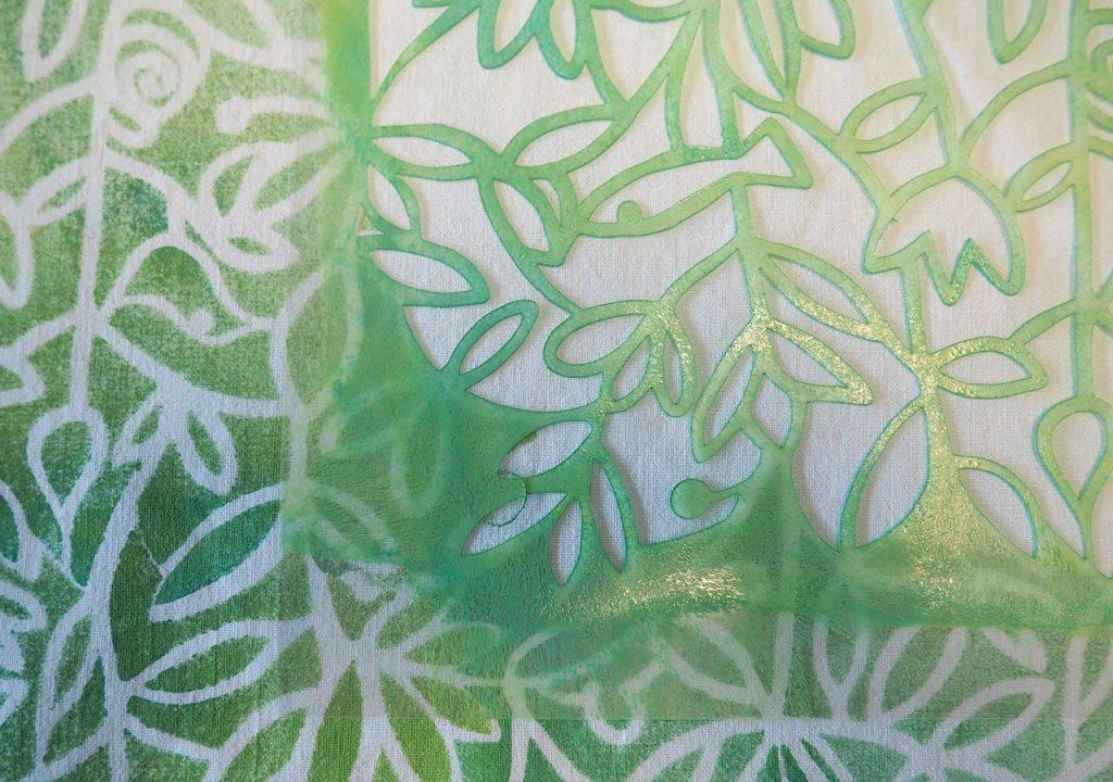 Frühlings-Flora-Fauna- Muster nach müllerinart