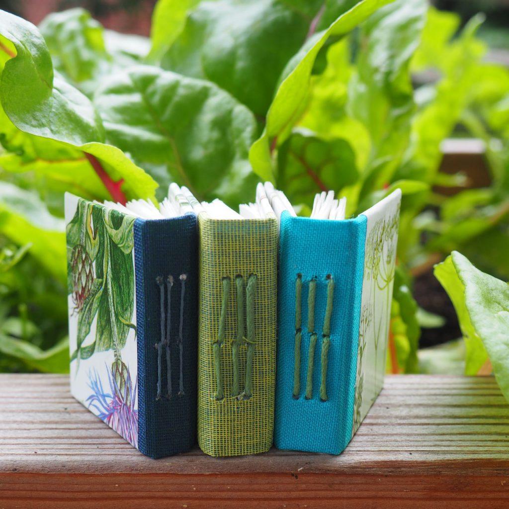 Mini-Gartenbücher nach ©muellerinart