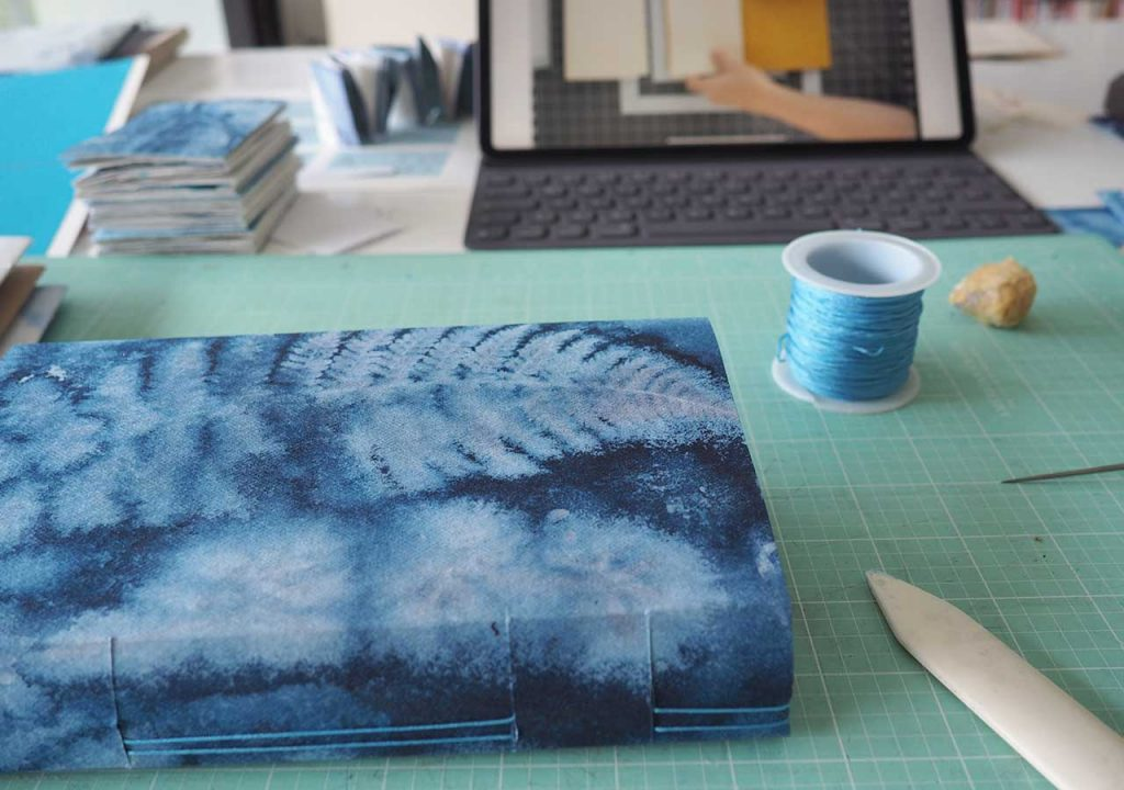 Blaues Sommerbuch ©muellerinartstudio