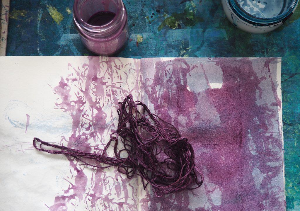 Fragment und Faden  ©muellerin-art-studio