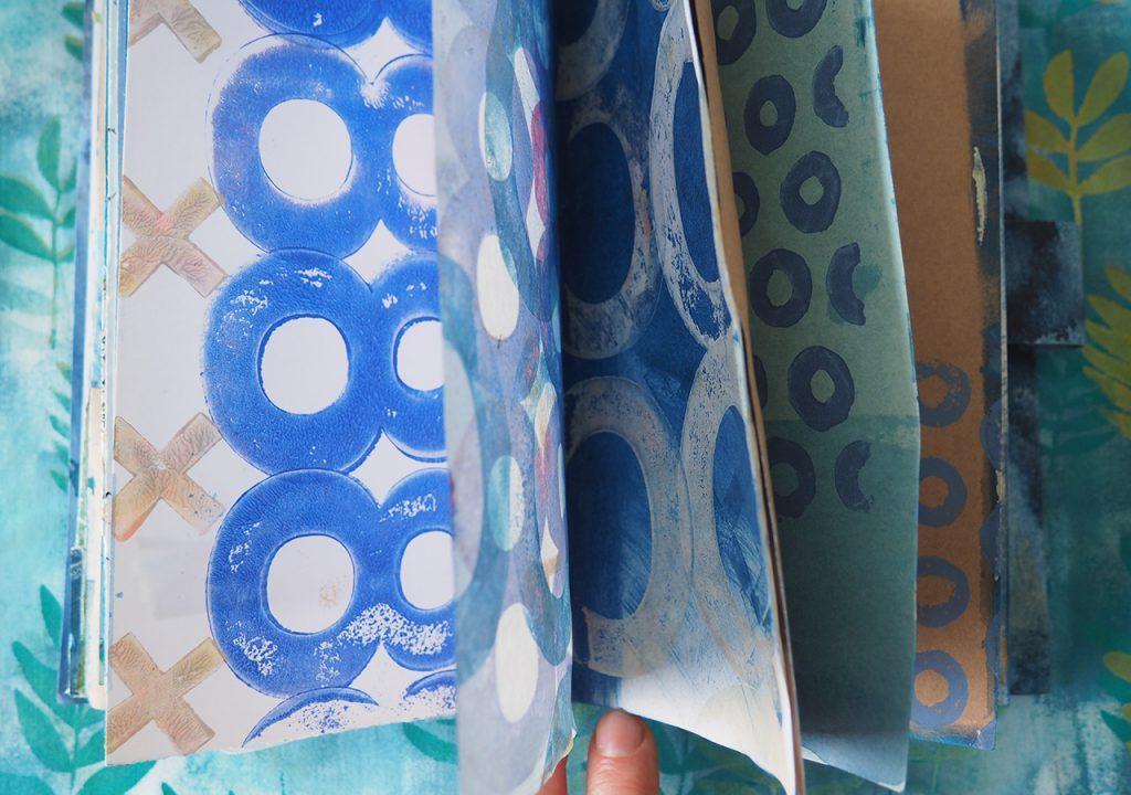 blaues Sommerbuch ©muellerinart