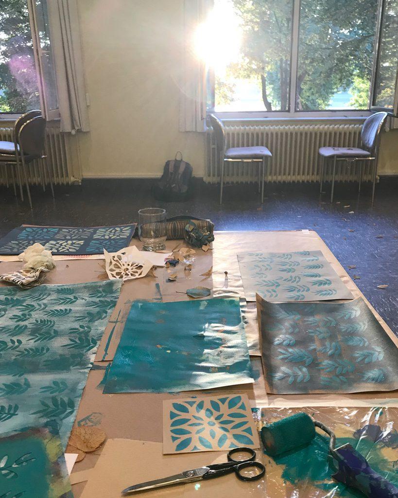 Workshop am Rhein ©muellerinart