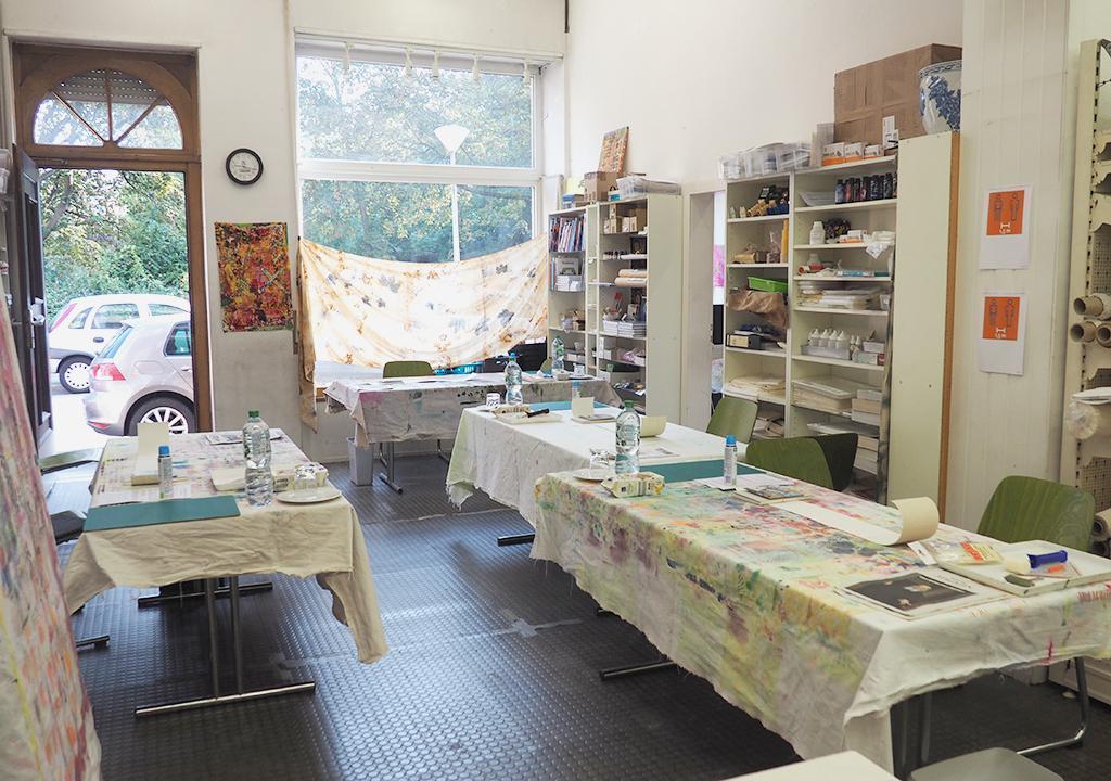 Workshop nach ©muellerinart im Jeromin Werkladen in Mannheim