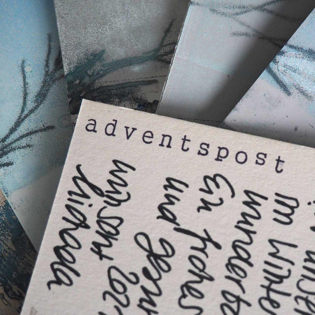 Adventspost 2020 ©müllerinartstudio