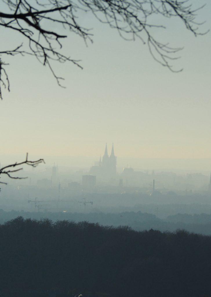 Blick auf Köln vom Sonnenberg, Bergisch Gladbach ©müllerinartstudio