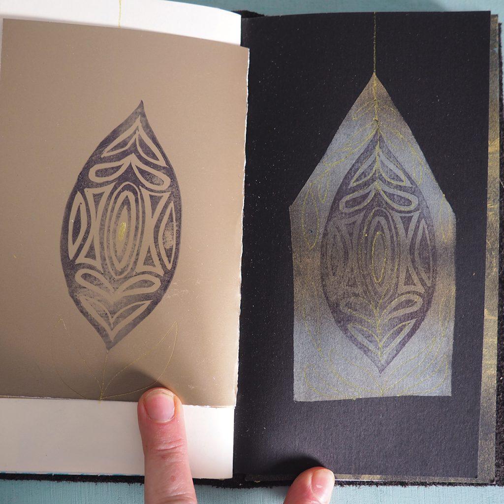 Goldenes Buch nach ©muellerinart