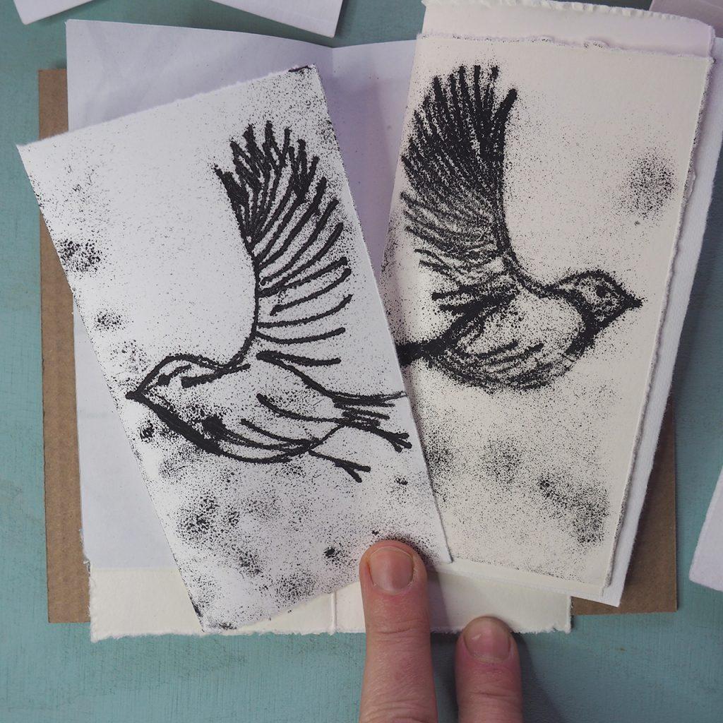 Glasscheibendruck ©muellerinartstudio