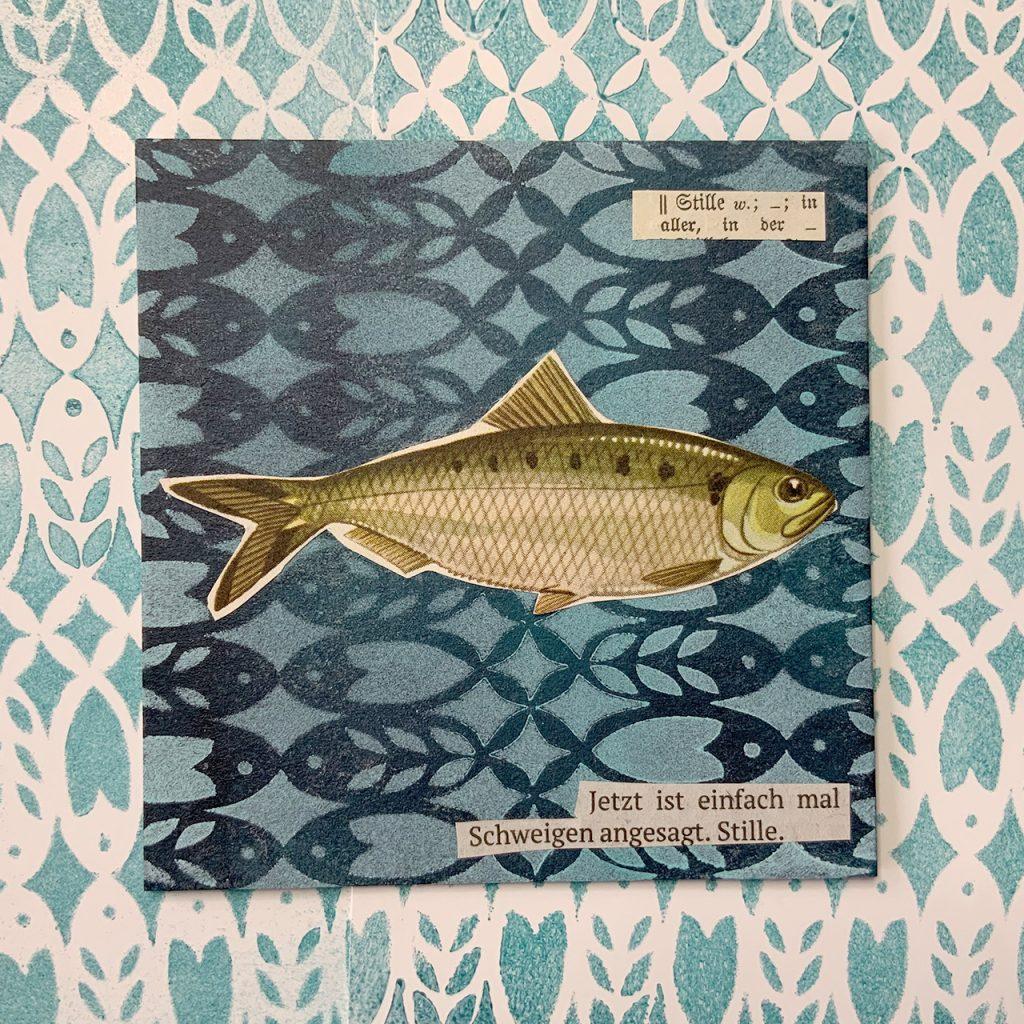 Fischcollagen nach ©muellerinart