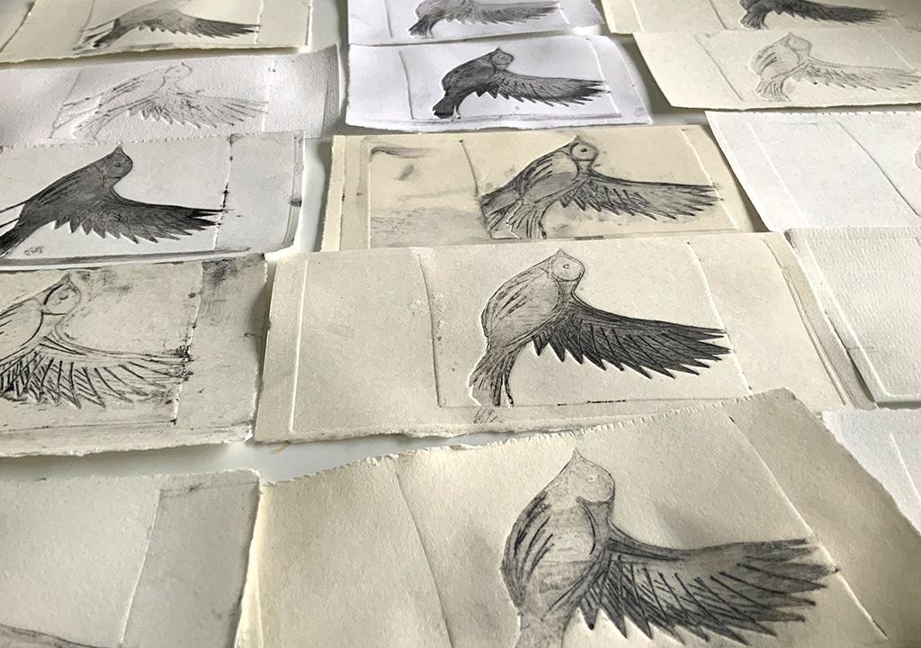 Open Press Projekt  Milchtütendruck ©muellerinartstudio
