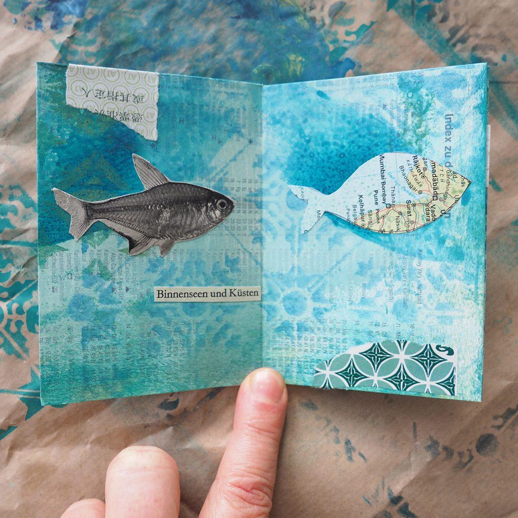 Augenpoesie Ein Fisch auf Reisen ©muellerinart