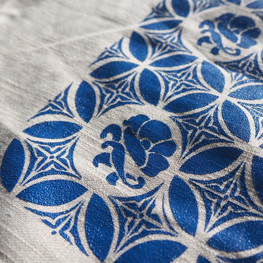 Malaysia Fliesen Muster Siebdruck ©muelleriart