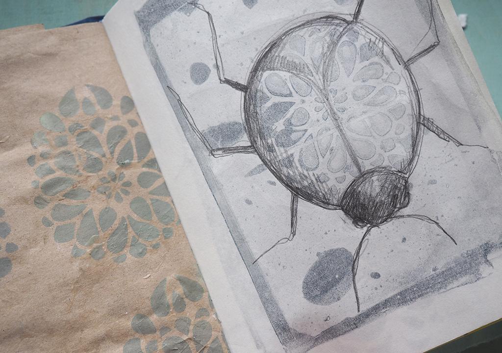 Skizzen nach ©Müllerin Art
