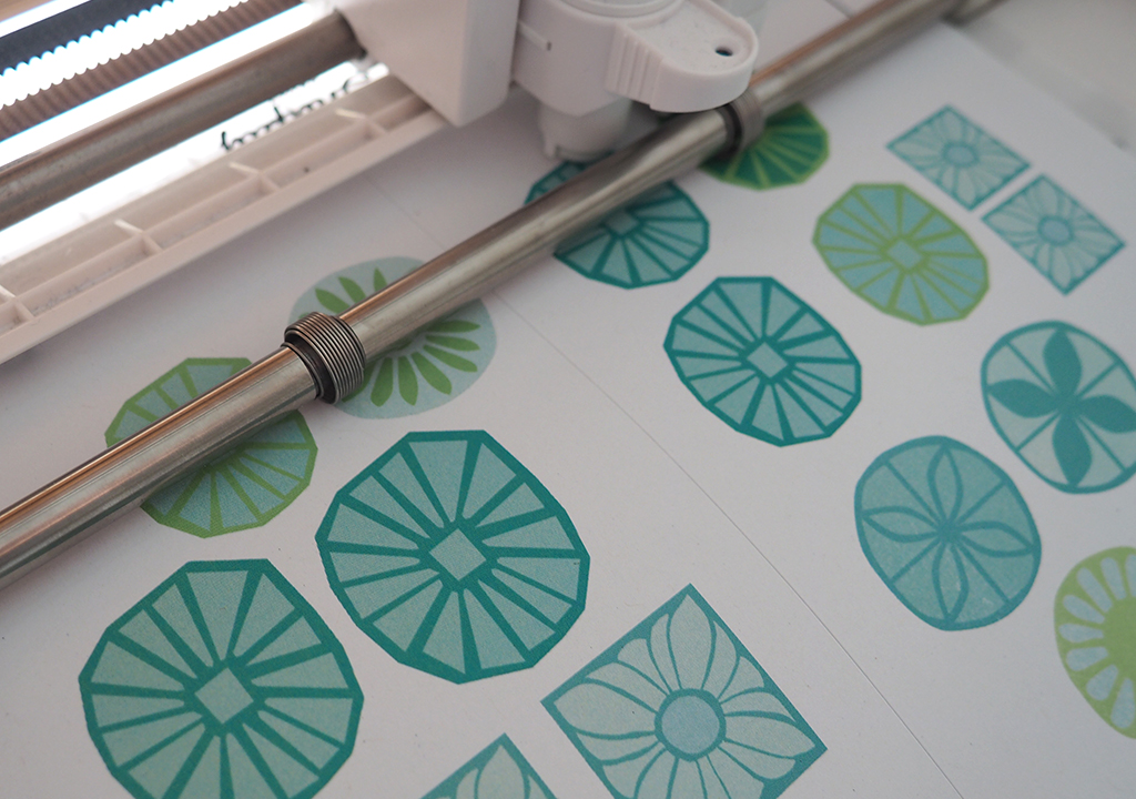 Print&Cut Silhouette Studio ©muellerinart