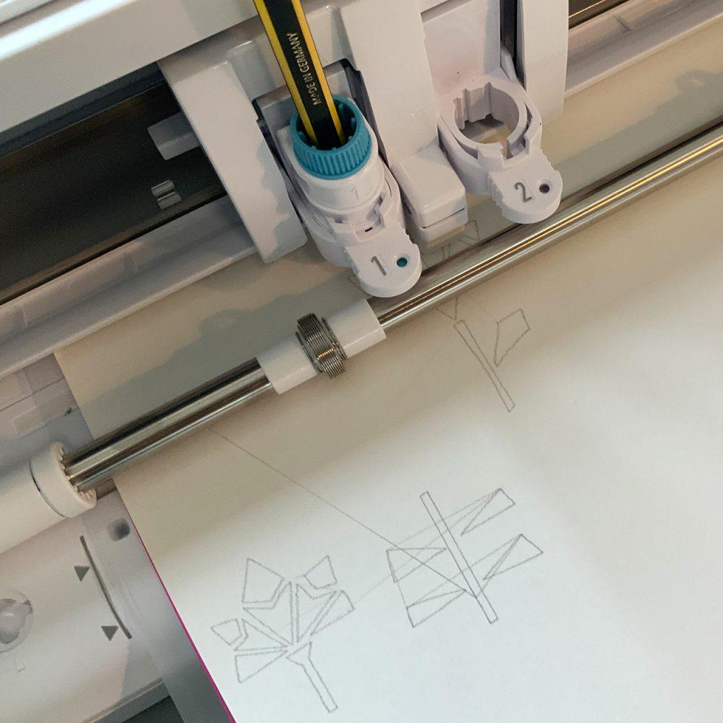 Plotterzeichnung nach ©muellerinart