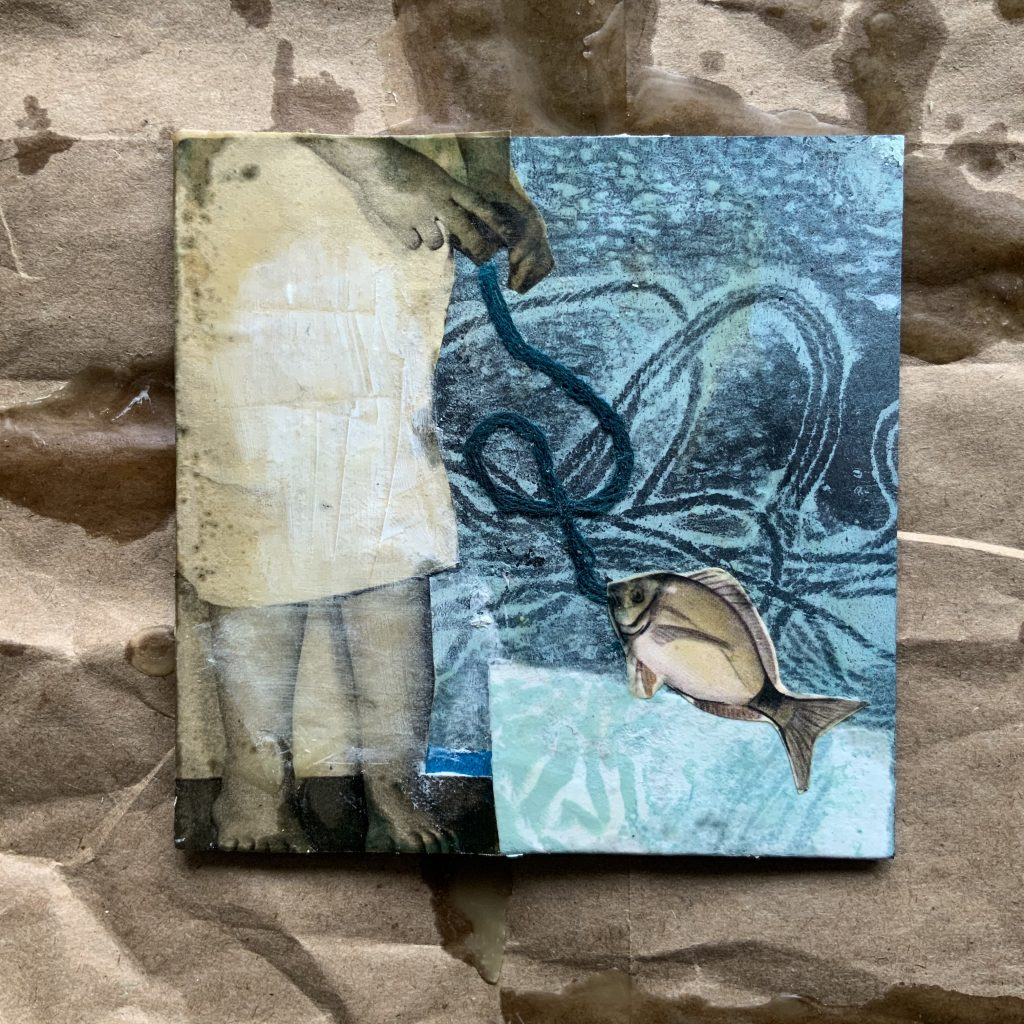 Faden  Collage ©muellerinart