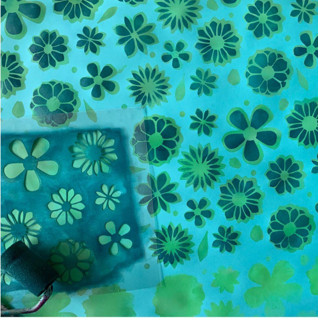 Ausschneiden und Aufblühen Plotterkurs nach ©muellerinart