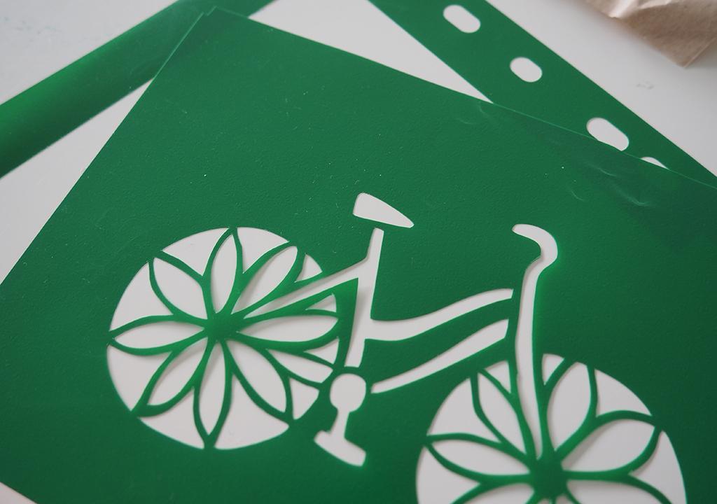 Re Cycling Schablondendruck ©muellerinart