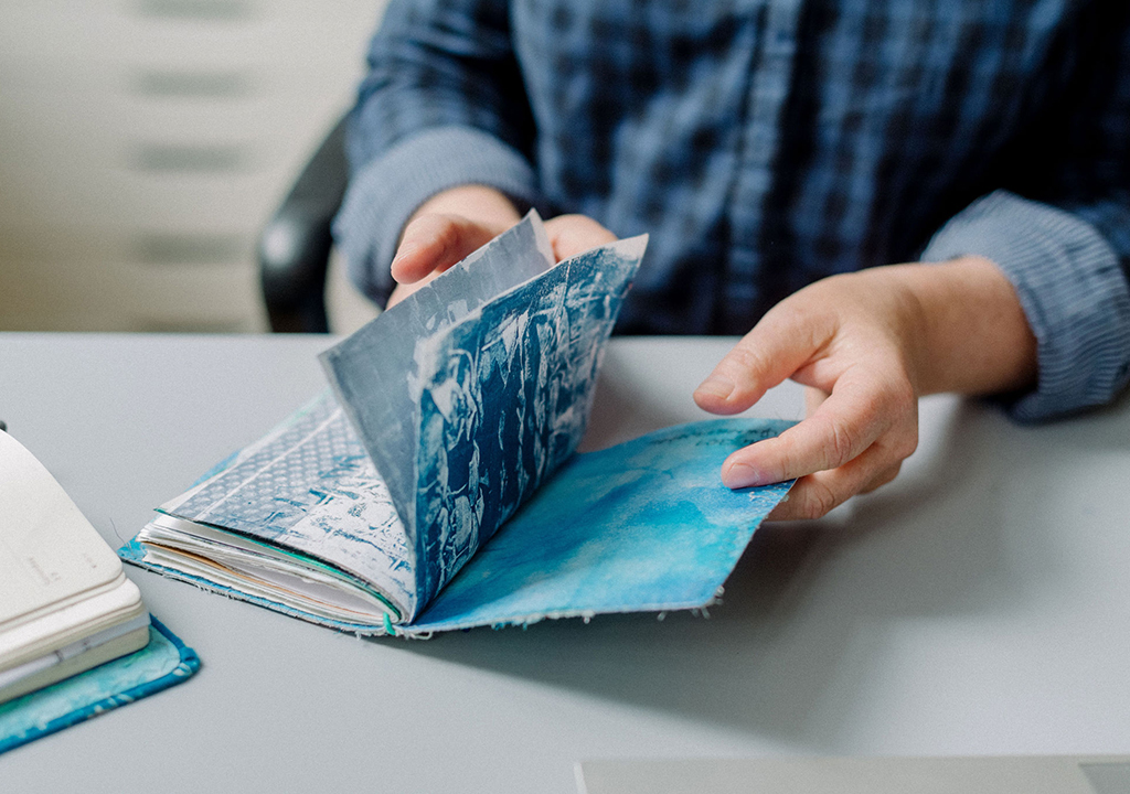 Gewebebuch nach Müllerin Art ©kitty fried