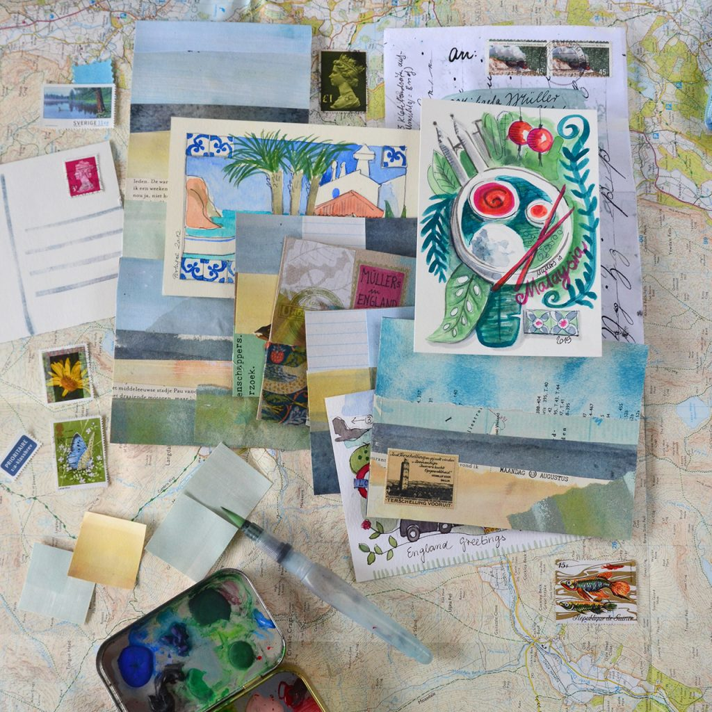 Postkarten aus Schöne Post ©muellerinartstudio